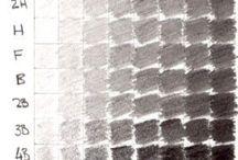 Brugklas: Tekenen grijswaarden -arceren en greinen-