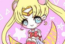 Sailor Moon - Chibi / by Mariana Marins