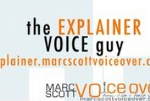 Explainer Video Voice Over - Marc Scott Voice Over Talent / These are animated explainer and whiteboard videos I've provided the voice over for. Find out more about my services at http://explainer.marcscottvoiceover.com