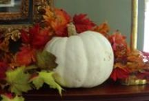 Autumn Decor / Autumn Décor at Hawthorn / by Hawthorn, A Bed and Breakfast