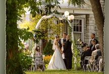 Outdoor Weddings / Images of outdoor weddings at Hawthorn / by Hawthorn, A Bed and Breakfast
