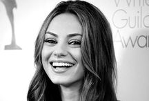 Mila Kunis / Mila is one of the most beautiful girls and a gorgeous actress / by Frank L