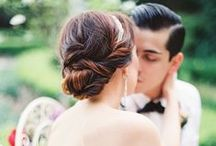 Wedding | Beauty / Hair + makeup wedding inspiration for the fine art bride.