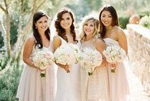 Wedding | Bridesmaid Looks / bridesmaid attire inspiration for fine art brides