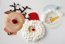 Christmas Ideas! / Κατασκευές, έμπνευση για χριστουγεννιάτικη διακόσμηση, κάρτες και ιδέες για δημιουργικό χρόνο με τα παιδιά!