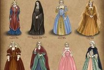 Back in Time / Medieval/Renaissance/Reenactment Clothing and Accessories   / by Pam Baxter