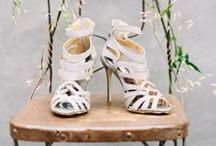 Wedding | Shoes / Beautiful wedding day shoes