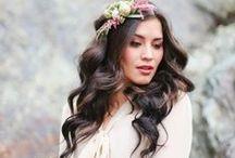 Melena al viento / Looks de inspiración para esas novias que quieren lucir melena en uno de los días más importantes de su vida pero con estilo!! ;)