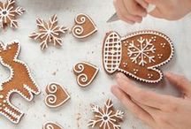 Gingerbread and other xmas cakes