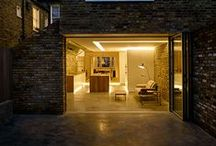 Coffey Architects - aluminium bifolding door / Coffey Architects incorporated our Sunflex SF55 aluminium bifolding doors into this modern extension in London. To find out more about the SF55 bifolding door visit - http://sunflexuk.co.uk/bifold-doors/aluminium-sf55-sf75