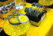 Yellow Candy Buffets / by Candy Buffet Business