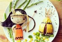Kids & Food / Creatività, idee e tanto divertimento! | Playing around and fun food