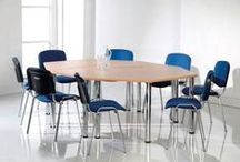 Conference Tables & Chairs / Stackable and foldable furniture suitable for events, lectures and conferences.