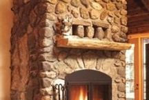 Fireplaces So Warm and Cozy / by Teresa