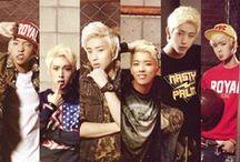 B.A.P <3 / my beautiful,wonderful bias and ultimate.....kim himchan !! *^* and otp daejae u.u