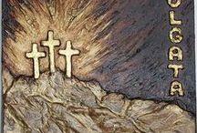 Religious Art - Religiøs Kunst. / Art - religious.