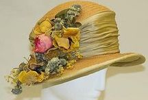 The Way We Wore, Headgear / 18th to 20th century / by Rose H