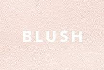 Crush on the color blush / I do have a crush on the color blush, therefore I started a new Instagram account and a hashtag with the name #crushonthecolorblush