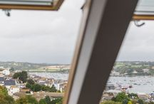 Room 7: The Penthouse Suite / Huge B&B room with gorgeous views over Falmouth harbour.