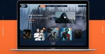 Online TV & Film UI Designs