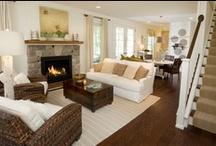 Living Room Ideas / by Barbara McVey