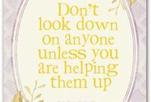Inspirational Words / Quotes and other sayings / by Cottage at the Crossroads