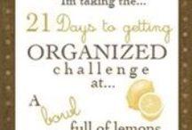 Organization / by Melissa Rampy
