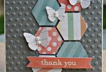 Cards from Scraps / cards made from scraps. I've got oodles to use!