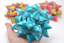 Holiday Gift Wrapping / Amazing DIY Holiday gift wrapping ideas using your Bowdabra!   (Crafting made easier using Bowdabra - the craft tool to unleash your creativity!) / by Bowdabra @Bowdabra.com
