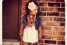 Little Girl Fashion / by Nicole Jones Fitness
