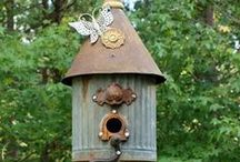 For the Birds / Love to watch the birds from my home office window.  / by Janet Wakeland