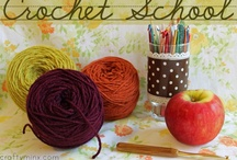 Crochet: references, techniques & tips