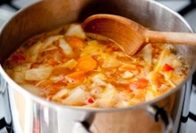 Just soups! / Nourishing, soul-satisfying, heart-warming soups! / by Cottage at the Crossroads