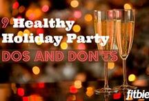 Holiday Health and Safety / The holiday season brings a lot of joy, but it also brings challenges when it comes to being safe and healthy! Diet pitfalls, travel hazards, accidents, illness - they all come along with the spirit of the season. Stay safe, well and merry with these tips and ideas!