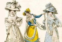 II:**  Antique FASHIONS,General / Antique clothing & fashions....includes hairstyles,jewelry,etc / by Lina at Pinterest