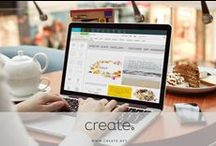 Create. Website Inspiration / Ideas and examples to inspire you when building your online shop or website with Create.