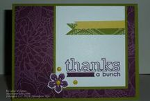 Craftiness - Stampin' Up made by me / Creations made by me using Stampin' Up products