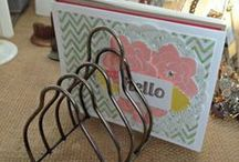 Card Display Ideas  / by Janet Wakeland - RemARKably Created