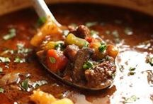 Soup & Stew Recipes / Hearty soups and stews ... perfect for the chilly winter months!