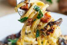 Pasta Recipes / Plates full of pasta ... yes please!