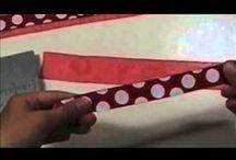 Crafty Videos / DIY video tutorials on everything craft-y!!!