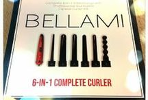 Bellami Hot Tools / The FIRST of it's kind, the BELLAMI interchangeable curler sets offer the most useful and versatile professional titanium curlers – all with one handle. Plus, the BELLAMI Runway Flat Styler Iron features 100% ceramic tourmaline plates. The stylish design of the BELLAMI Runway allows for the creation of versatile hairstyles; from straight long silky hair to bouncy flowing curls.