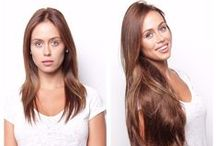 Before and After BELLAMI HAIR / We love an amazing transformation!