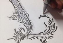Typography & Lettering Love / by Alanna Kellogg