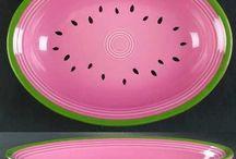 Fiestaware - Vintage & Now