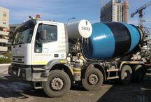 Concrete / Concrete mixers and pump