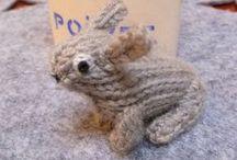 Random cute / Cute knitting patterns for little things