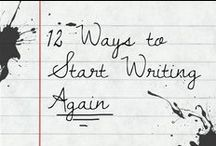 Write. Now! / Thoughts and resources on writing for writers