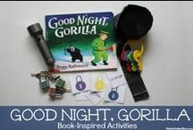 """ZOO Animals / Several Zoo Activity Ideas as well as story stretchers for the children's book """"Good Night, Gorilla"""" written by Peggy Rathmann.  Great for toddlers, preschoolers & kindergartners!"""