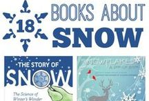 WINTER Fun & Learning / Preschool winter related activities for the classroom and home! Including snow, snowflakes, snowmen, Christmas, arctic animals, New Year's, Valentine's Day and more!